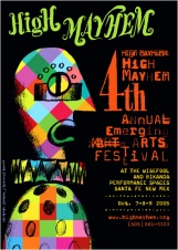 4TH ANNUAL HIGH MAYHEM EMERGING ARTS FESTIVAL